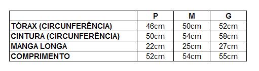 medidas macacao soft p m g